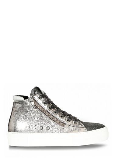 4US Sneakers Gümüş